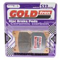 Picture of Goldfren 015-S33, VD326, FA88, FDB337/R, SBS555 Disc Pads (Pair)