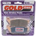 Picture of Goldfren 014-S33, VD156/2, FA142/2, FA196, FDB664, SBS700 Disc Pads (Pair)