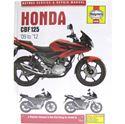 Picture of Haynes Manual 5540 Honda CBF125  (09-12)