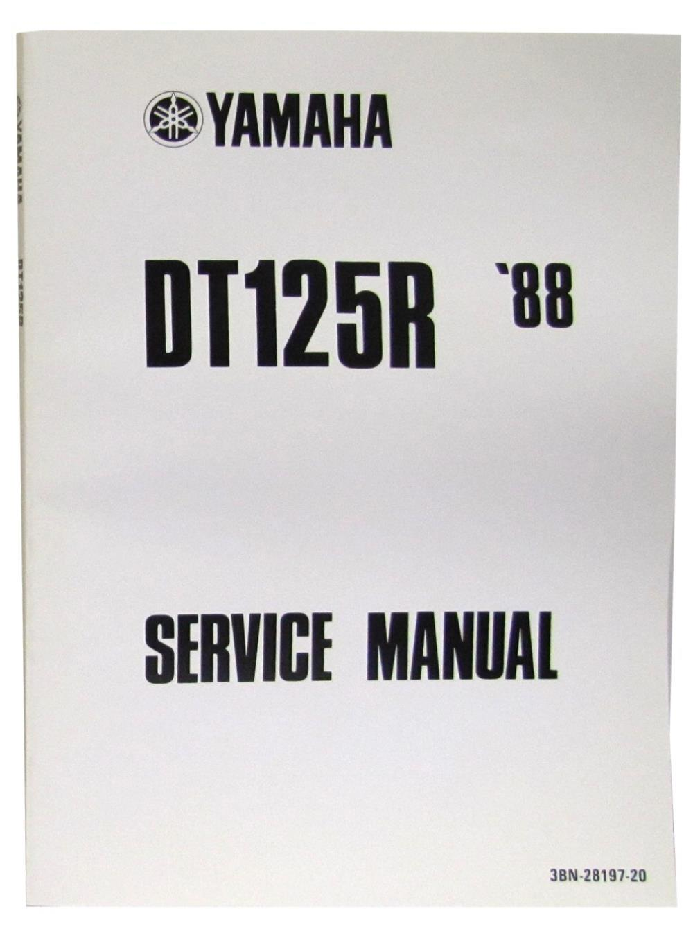 Picture of Workshop Manual Yamaha DT125R 1988-2003(O.E. Service Manual)