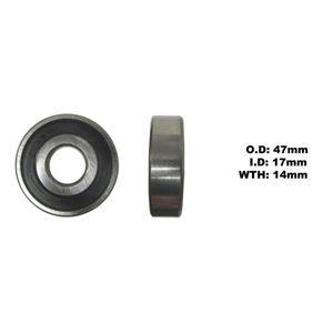Picture of Bearing Koyo 6303DDU(I.D 17mm x O.D 47mm x W 14mm)
